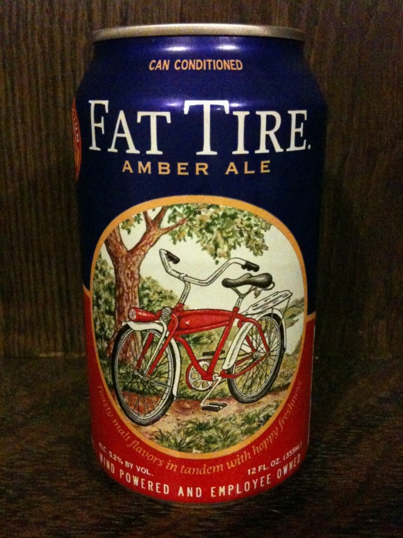 Fat Tire in Cans